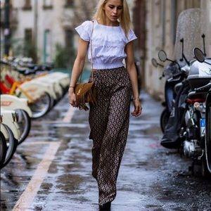 Zara Pants - Zara Pallazzo Pants
